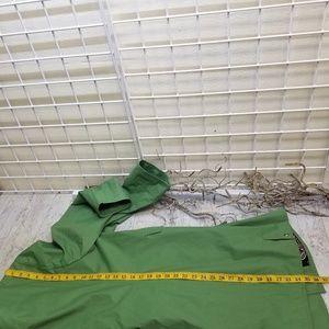 Preston & York Jackets & Coats - Preston & York Green Trenchcoat w/Paisley Liner XL